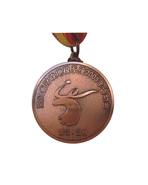 مدال سفارشی برنزی